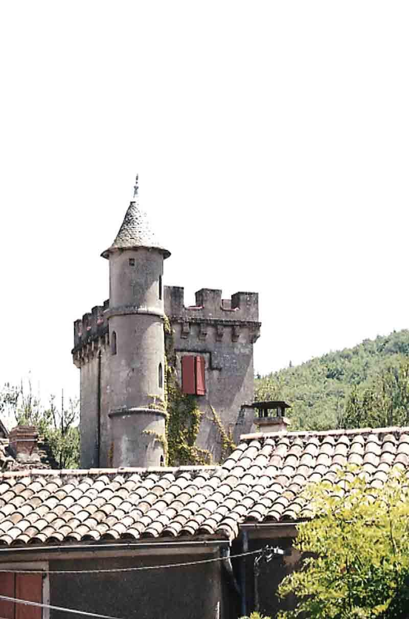 ......et soudain le château !