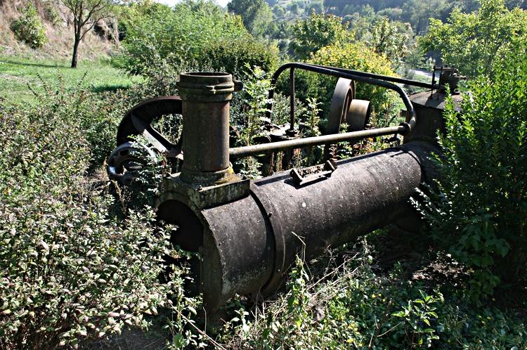 ............Ancienne machinerie du Moulin.....
