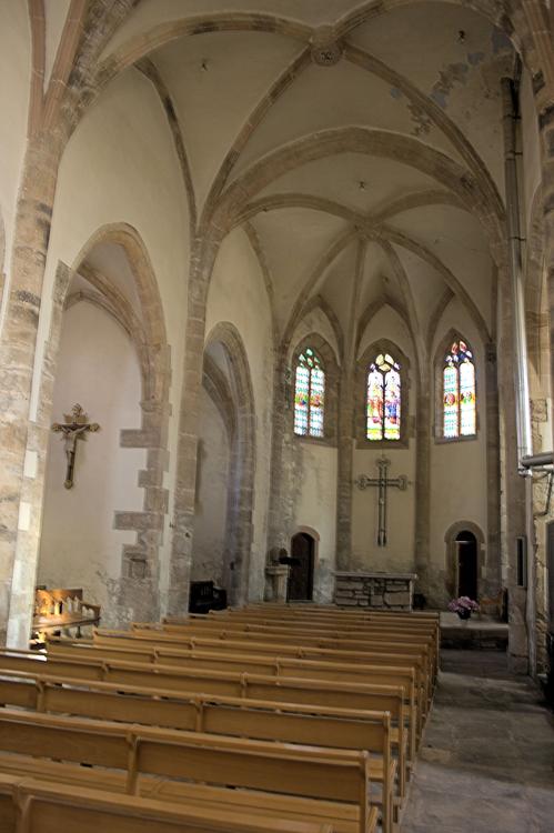 ......Intérieur de l'Eglise....