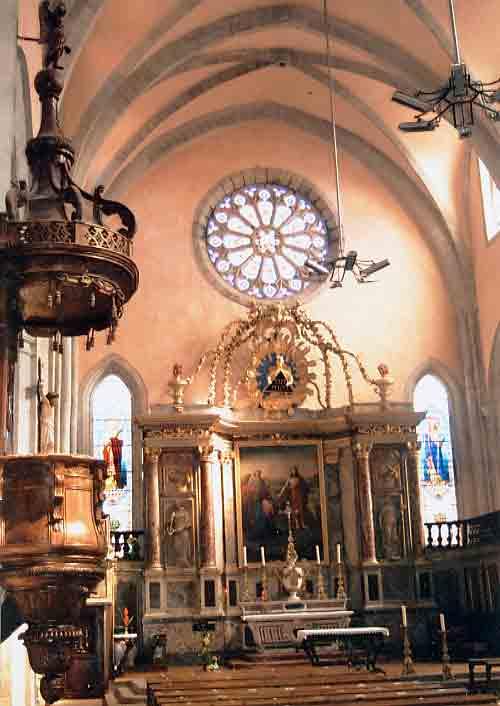 L'intérieur de la Cathédrale en quelques images .....