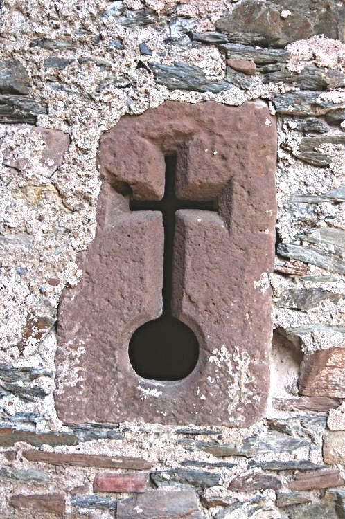 ......Emblème de la Croix dominant le monde.....