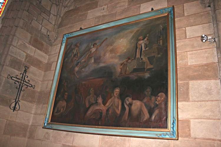 .......Nôtre Dame de St-Léonce (XVI°siècle) provenant de l'église ruinée de Saint-Léonce et don de la famille Henri Rouquette ,placé en 1988......