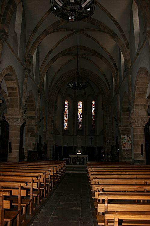 .......L'intérieur de la Chapelle......